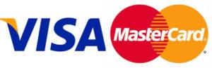 visaとmastercard使えます